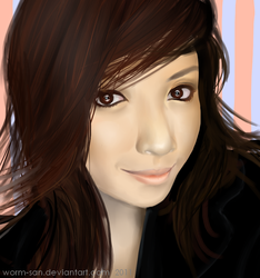 Michelle Phan by worm-san