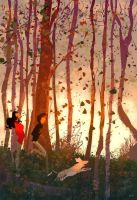 Into the fall. by PascalCampion
