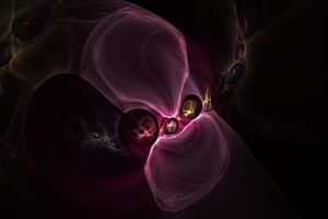 Pink Skull by shineout-fractals