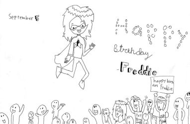 Happy Birthday To Freddie by KechumBoomBoom