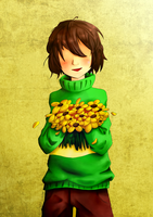 Chara - To my best friend by Eufasy