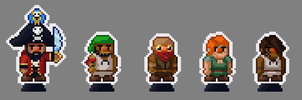 Pixel Paper Pirates by RollToNotDie