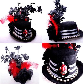 Sugar and Cyanide - Top Hat by Blush-Art