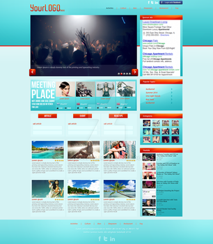 Fresh WebInterface FOR SALE by CoolDes