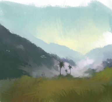 Mountains by SunRoamer