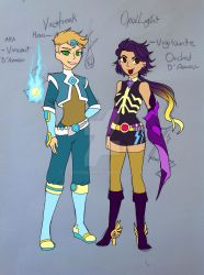Viostreak and Opal Light by OnyxOnline