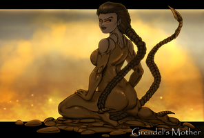 Grendel's Mother by Chronorin