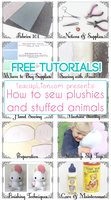 How To Sew Plushies And Stuffed Animals by TeacupLion