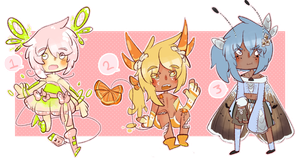 Auction Adopts 6 [Closed] by SugarSweetEclair