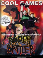 Road Battler promo by blackshirtboy