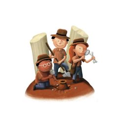 Small Archaeologists by roweig