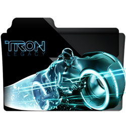 Tron Legacy Folder Icon by gterritory