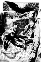 Batman Page [Sample] by antoniocoltro