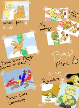 photo album page 1 by May-Lene