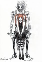 My Shinigami and I by ElsaVonNarbe