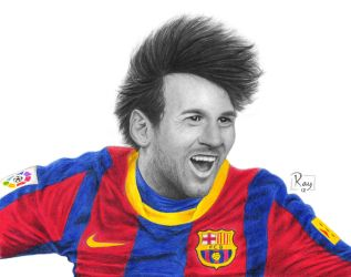 Lionel Messi by RayPelesko