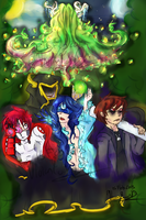 CB Files: The Forest by Twin-Divinity