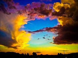 colorful sky by tydesson