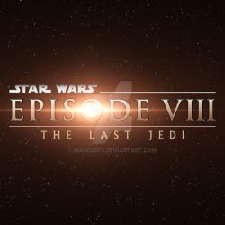 THE LAST JEDI - prequel styled logo by MarCusFX