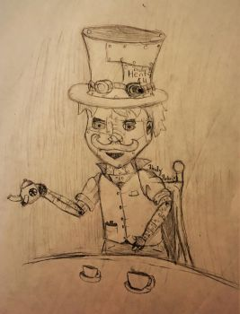 The Copper Hatter by TheHunterOfEvil