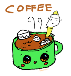 Coffee by Fanma4