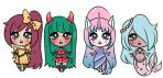 points/paypal Adopt-Halloween Chibis  (CLOSED) by Artlover4lifeHannah