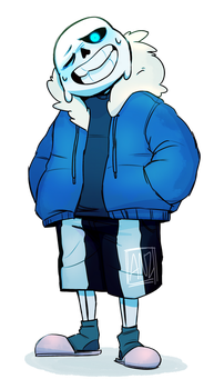 hey look another sans by radshiba