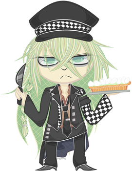 Ukyo Commission (Watermarked) by Pupgang