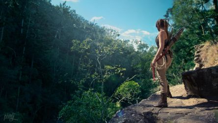 Rise of the Tomb Raider - Hidden Oasis... by TheLazyCosplayer