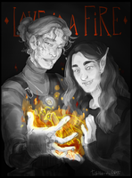 | Love is a Fire | Day 2 | by TvattbjornsART