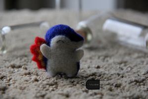 needlefelted Cyndaquil 2