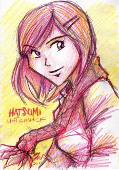 hatsumi - hot gimmick by lazytigerart