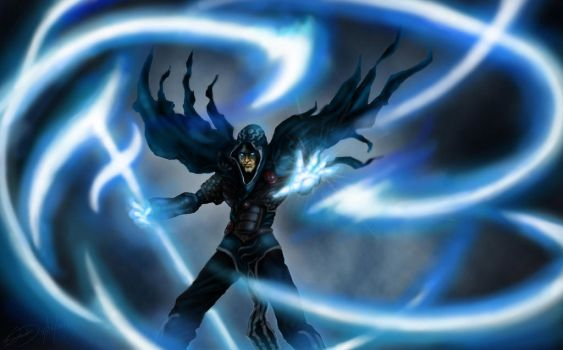 Jace Beleren - Magic the Gathering [Improved Ver.] by visualinfinity