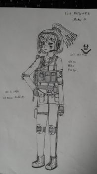 OC Character, Mika 31 by sunung0317