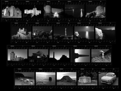 Phony contact sheet by CitizenJustin