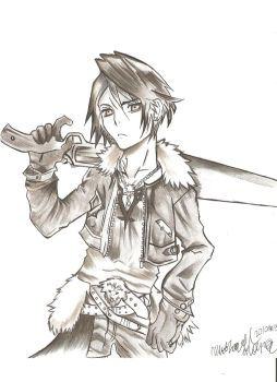 DFF: Squall Leonhart by popura