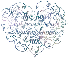 The heart has reasons by slave2F8
