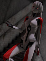 [MMD] Carbon White Tei by Redoxygene