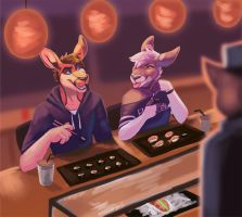 Sushi by Ink-aroo