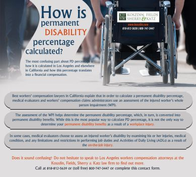 How is permanent disability percentage calculated? by Koszdin