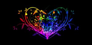 Colorful Heart by Deathlustx