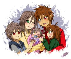 Together Family by NaughtyKittyDV-1992