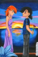 The first Date by JunAkera