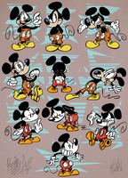 Mickey Mouse by EeyorbStudios