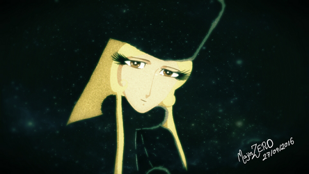 Maetel from Galaxy Express 999  by soteriosalles