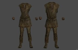 'Skyrim' Prisoner Rags XPS ONLY!!! by lezisell