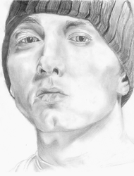Eminem Drawing by dpmm07