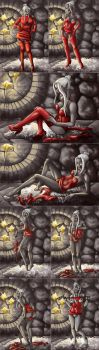 Dark Elf Strip Series by Asarea