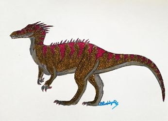 Orion the Baryonyx by BlueWyst