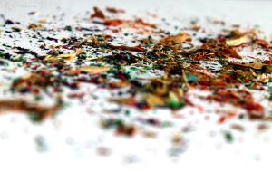 Pencil shavings II by SunMorning